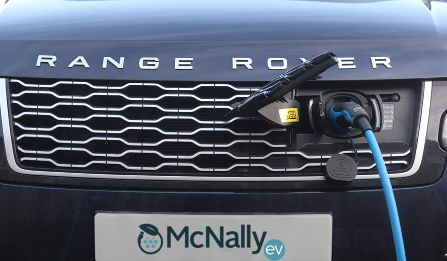 range rover charging