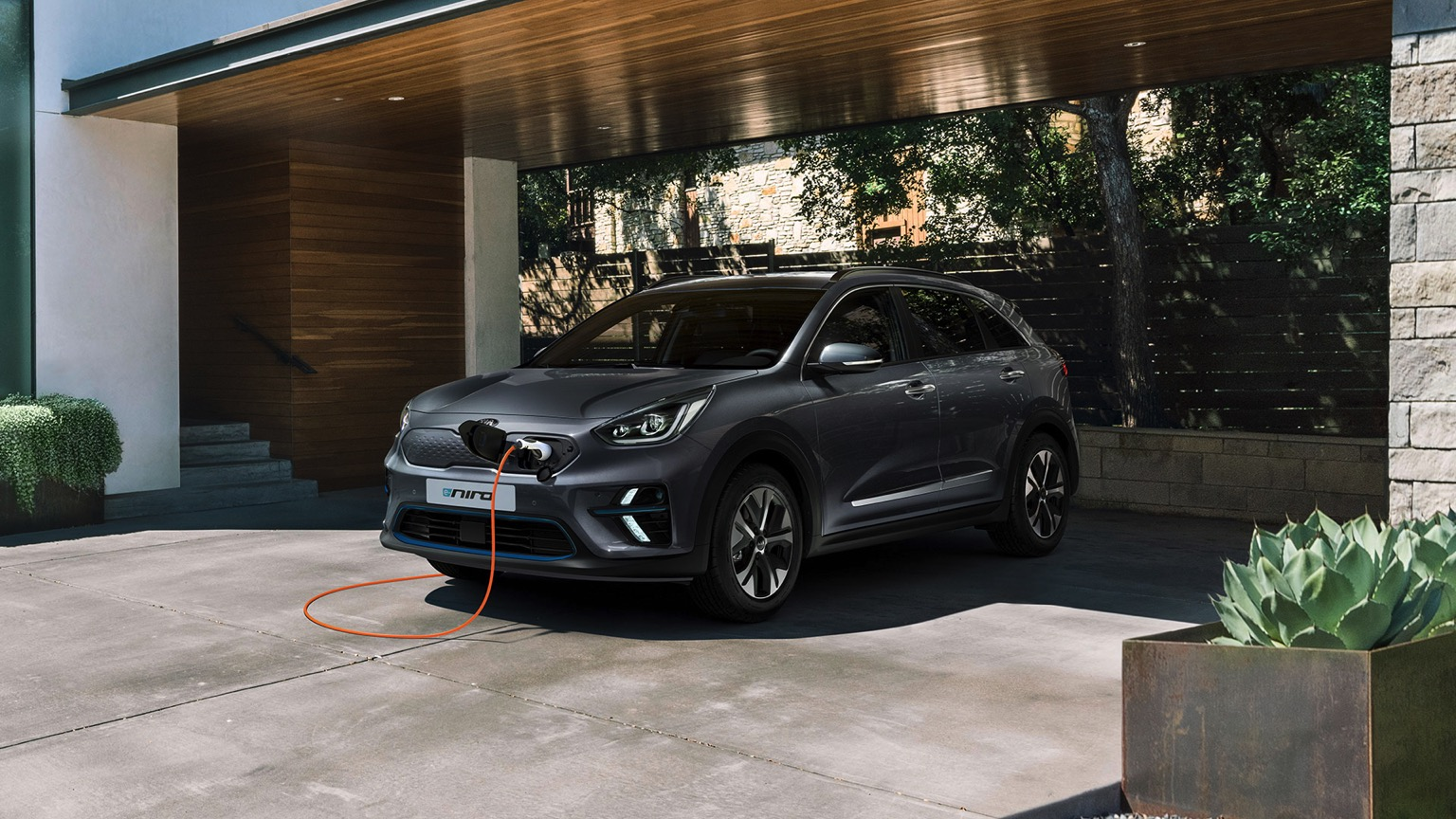 Kia e-niro home charging
